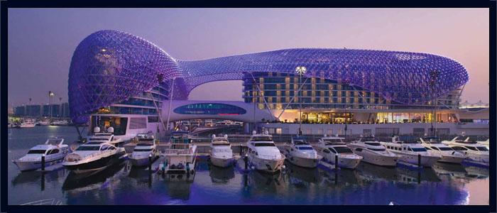 Hotel Yas Marina A Abu Dabhi : Abu dhabi grand prix packages yas hotel