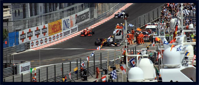Monaco Grand Prix Balcony Package