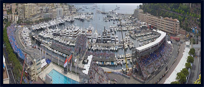 Monaco Grand Prix High Terrace Balcony Package